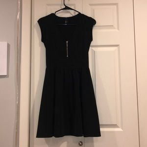 Fit & flare H&M dress with zipper detail